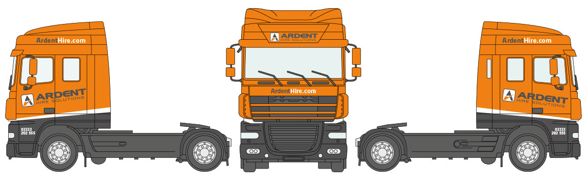 Ardent Livery DAF