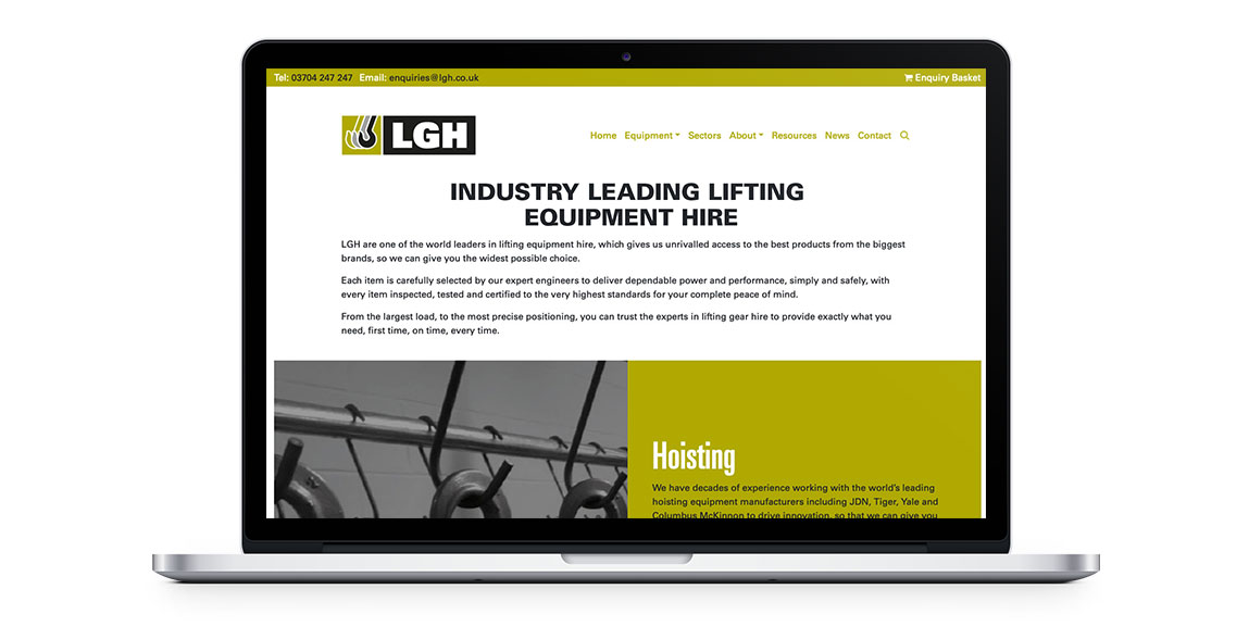 LGH Website Desktop
