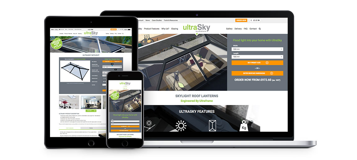UltraSky website Group